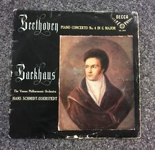 AUDIOPHILE DECCA SXL 2010 FIRST RELEASE BACKHAUS & SCHMIDT-ISSERSTEDT STEREO LP