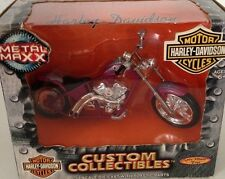 2001 HARLEY DAVIDSON CUSTOM COLLECTIBLES METAL MAXX 1/17 SPIN MASTER TOYS