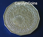 50c Coin 2006 Queen's Royal Visit Australia 50 Cent UNC condition in 2x2 holder