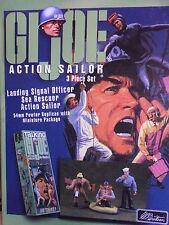 Britains Set 17219 GI Joe Action Sailor 3 Piece Boxed Set 54mm