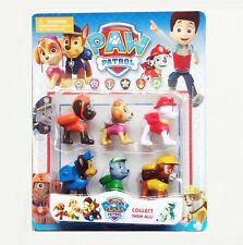 6pc/Lot Puppy Paw Patrol Toys Action Figures Plastic Puppy Patrol Dog Kids Gift