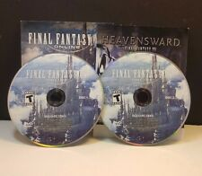 Final Fantasy XIV Online (PC, 2010) DISCS AND ACTIVATION ONLY