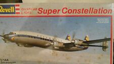 Revell Super Constellation Lockheed L1049  Scale 1/144  Kit # 4237
