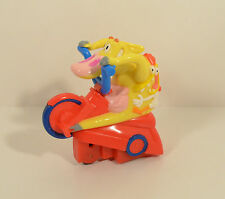"""1999 Cow & Chicken Tricycle 3.5"""" Taco Bell Action Figure Cartoon Network"""