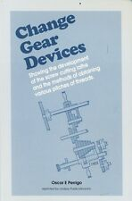 Change Gear Devices: 29 designs described (Lindsay how to book)