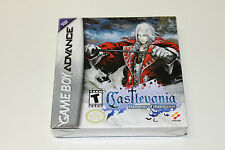 Factory Sealed Castlevania Harmony of Dissonance Nintendo GBA Brand New and Mint