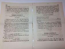 Regio Decreto 3/03/1867 Costruz. di una sez. del coll. elett. di Atessa- 677