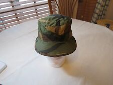 woodland camouflage hat military 7 US Army winter flaps cap official uniform