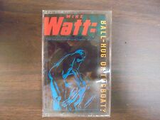 "NEW SEALED ""Mike Watt: Ball-Hog Or Tug Boat? Cassette Tape   (G)"