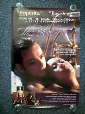 THE PILLOW BOOK Original 1990s OS Movie Poster Ewan McGregor, Vivian Wu