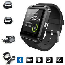 Bluetooth Smart Watch Wristwatch Touch Screen For Android Samsung HTC LG Black