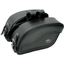All American Rider Extra-Large Futura Slanted Motorcycle Saddlebags