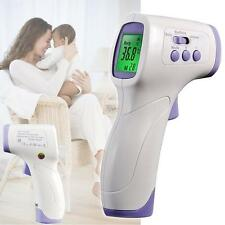 Non-contact Body Skin Infrared IR Digital LCD Thermometer For Baby Kids Adult KJ