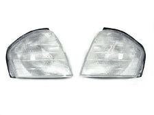 Depo 94-00 Mercedes Benz C Class W202 Euro Style Clear Corner Signal Light Pair