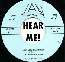 ROCKABILLY REPRO: NIGHT ROCKERS - Baby Let's Play House/E String Boogie JAN