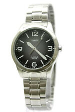 New Timex Weekender Classic Steel Indiglo Dress Watch 37mm T2N634  $57.95