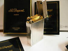 S.T. Dupont Paris Limited Edition 1991 JUBILE Petrol Lighter Silver NEW