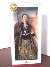 Mint Never Opened Dolls of the World Barbie Princess of the Navajo 2005 NRFB