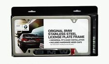 BMW Satin License Plate Frame 82110413118, 82 11 0 413 118
