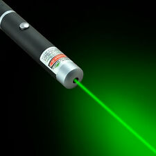 Powerful Green Laser Pointer Pen Visible Beam Light 5mW Lazer High Power 532nm