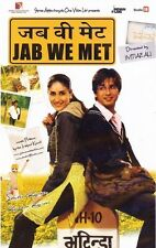 JAB WE MET - ORIGINAL BOLLYWOOD DVD - FREE POST