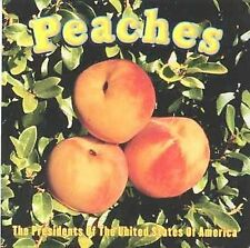 Peaches The Presidents of the United Sta MUSIC CD