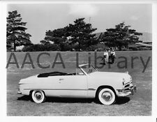 1950 Ford Convertible Coupe, Golf Course, Factory Photo (Ref. # 42340)