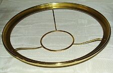 "10"" Brass shade holder Aladdin alladin oil lamp 3&1/8"" fits B, C, #23, #23a, etc"