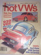 Dune Buggies And Hot VWs Magazine Baja Bug 930 Vee September 1984 042117nonrh