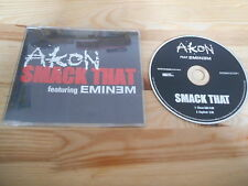 CD HipHop Akon feat Eminem - Smack That (2 Song) MCD MOTOWN / UNIVERSAL