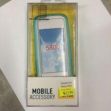 Nokia 5800 TPU Jelly Case Cover in Blue JCNOK5800BLU Brand New in Original pack.
