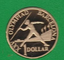 1992 Australia Barcelona Olympic Games $1 PROOF Coin ex PROOF Set