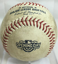 JOE PANIK GAME-USED BATTED BASEBALL OPENING DAY AT-BAT 4/13/2015 SF GIANTS MLB