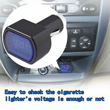 New LED Display Cigarette Lighter Electric Voltage Meter For Auto Car Battery UT