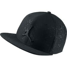 Nike Air Jordan Retro Adjustable Snapback Hat Black Speckle Unisex 821830-011