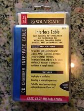 SOUNDGATE CD CHANGER INTERFACE CABLE MODEL NO. FC4