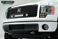 T-REX Torch Series LED Grille 13-14 Ford F-150 Truck 6315721 Black