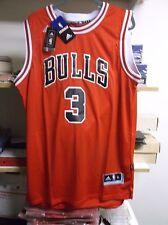 Dwyane Wade #3 Chicago Bulls Men's Red Swingman Home Jersey LARGE