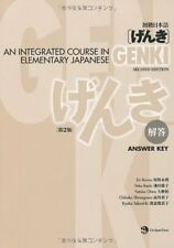GENKI An Integrated Course in Elementary Japanese Answer Key Second Edition JP