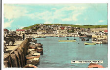 The Harbour, West Bay, PPC 1962 Bridport PMK to Boscombe by Dearden & Wade