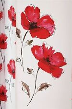 BN Next Large Watercolour Red Poppy Wall Sticker Removeable