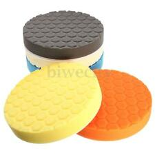 5Pcs 7'' 190mm Hex-Logic Sponge Polishing Pad Buffing Kit For Auto Car Polisher