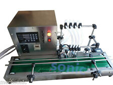Four heads full automatic liquid filling machine