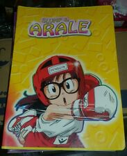 QUADERNO ARALE - Copybook Case School Backpack Figure Doll Dr. Slump Chan - NEW