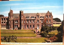 Irish Postcard BREAFFY HOUSE HOTEL Castlebar Mayo Ireland Noble Hinde 1980s 4x6