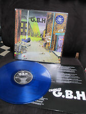 CHARGED G.B.H. - City Baby Attacked By Rats LP Punk Blue Vinyl Sick Boy Maniac