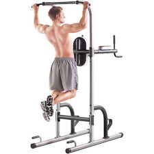 NEW Power Tower Multi-Station  Gym Push Pull Up Dip Flex Bar Exercise Workout