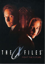 X FILES MOVIE FIGHT THE FUTURE PROMOTIONAL CARD P1
