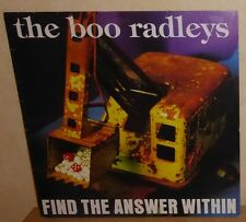 "Boo Radleys: Find The Answer Within. '95 Creation UK 4 Track 12"". CRE202T"