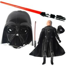 "Large Star Wars Darth Vader 32"" Extendable Light Saber Mask Action Figure Gift"